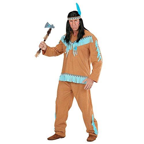Imagen de disfraz de hombre indio marron adulto carnaval alternativa