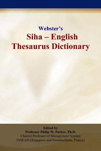 Webster's Siha - English Thesaurus Dictionary thumbnail