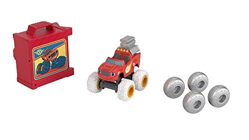 Blaze cambio gomme - macchinina monster truck giocattolo 3+ anni, fhv38