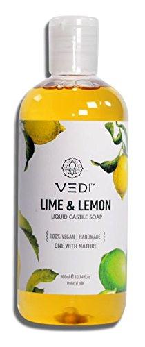 Vedi Lime & Lemon Liquid Castile Soap (200Ml)