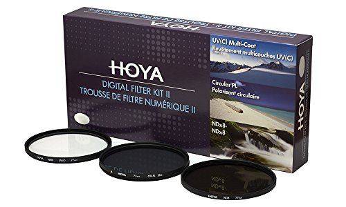 Hoya Digital Filter Kit (62mm, inkl Cirkular Polfilter/ND-Filter (NDx8)/HMC-C, UV-Filter) Digital Still Camera Kit