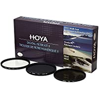 Hoya 58 mm Kit Filtro II Digital de Lente