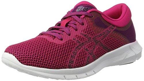 Asics Nitrofuze 2, Zapatillas de Entrenamiento Mujer, Rosa (Cosmo Pink/Black/Prune), 40.5 EU