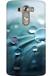 AMEZ designer printed 3d premium high quality back case cover for LG G3 (drops)