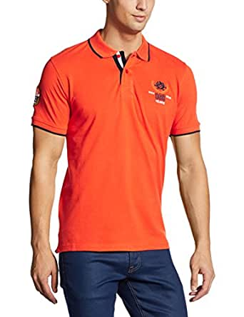 Fort Collins Men's Polo (501127_S_Orange)