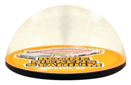 Paragon Bone China (Paragon NCAA Oklahoma State University Cowboys Boone Pickens Stadion in 5,1cm magnetisiert Briefbeschwerer aus Kristall mit bunten Fenster-Geschenkbox)