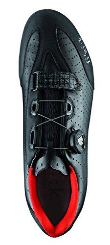 Fizik R3B–Sneaker–schwarz 2017 schwarz / rot