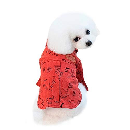 LOSVIP Haustierkleidung 2019,Kleidersommer - Dogge Und Baby Kostüm