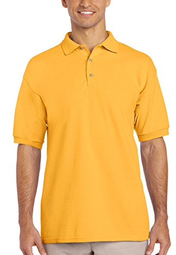 Gildan Ultra Cotton Pique Polo Shirt Gold