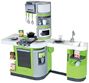 smoby cuisine cook master kids kitchen green play set