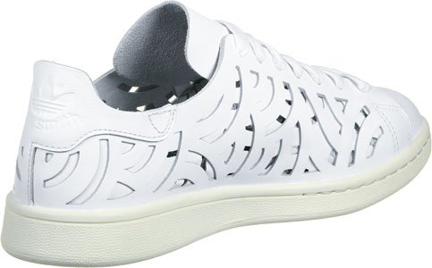 adidas Damen Stan Smithutout Sneaker Weiß (Footwear White/Footwear White/Cream White)