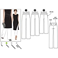 Estilo Arc–patrón de costura para pantalones Tejido de Natasha, Sizes 04-16
