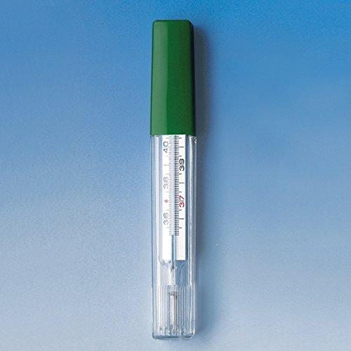 Fieberthermometer Glas Meditemp,ohne Quecksilber in Kunststoffhülle,