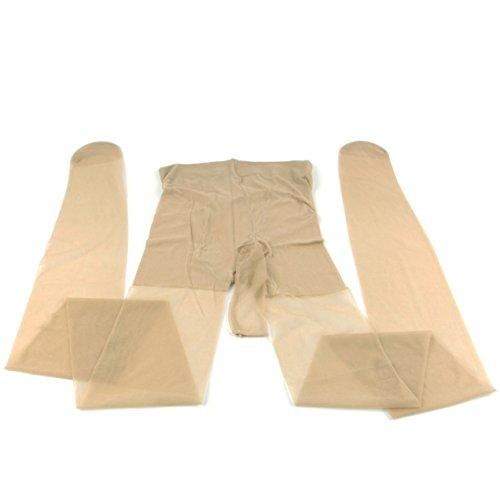 Preisvergleich Produktbild Greenpinecone® Herren Mesh Strumpfhose Leggings Hose Tights Sexy Fein strumpfhose für Männer Sexy Lang Unterwäsche Hautfarbe Männer Trunk Gamaschen