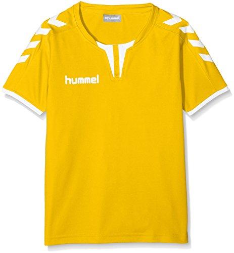 Hummel Jungen Trikot CORE SS POLY JERSEY, Gelb (Sports Yellow), 116 - 128
