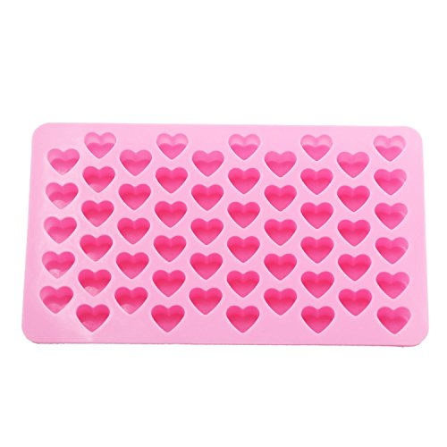 SYGA-Xcellent-Global-Mini-Pink-Heart-Shape-Silicone-Ice-CubeChocolate-Mold