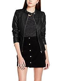 Vila Viaya Faux Leather Jacket-Noos, Chaqueta para Mujer