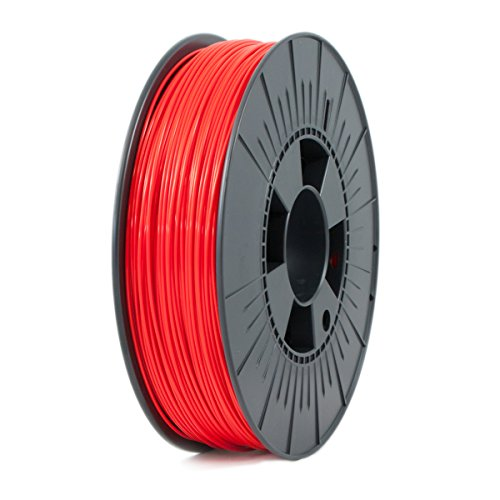 ICE FILAMENTS ICEFIL1PLA009 PLA Filament, 1.75 mm, 0.75 kg, Romantic Red