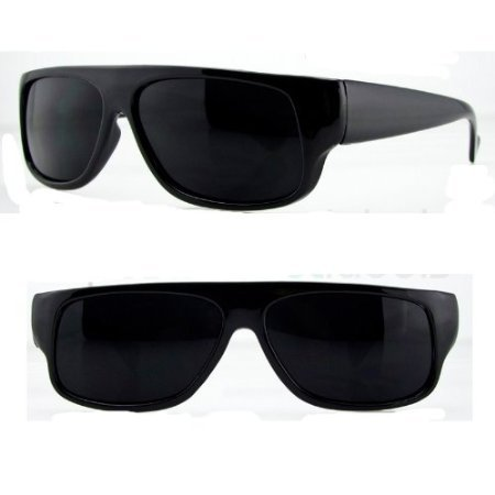 217fecf2235 Moda Old School Eazy E. Locs Hardcore Gafas de Sol Un tamaño Negro