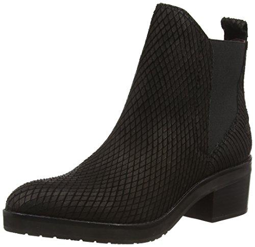 Marc O'Polo Chelsea Boot, Stivaletti a gamba corta mod. Chelsea, imbottitura leggera donna, Nero (Schwarz (990 black)), 36 2/3
