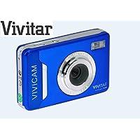 """Vivitar VT036-BLU-INT Appareil photo numérique 2,2"""" écran 4x Zoom 12,1 Mpix Bleu"""
