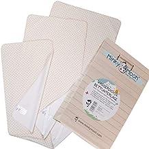Cubrecolchón impermeable de algodón orgánico para niños y bebés - Certificado GOTS & OEKO-TEX