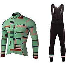 Future Sports UGLYFROG Pantalones Jersey Manga Larga Ciclismo Jersey de Bicicletas de Secado Rápido al Aire