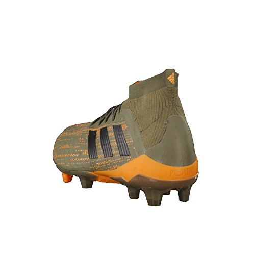 adidas Herren Predator 18.1 FG Fußballschuhe Braun (Oliv/Orange Oliv/Orange)