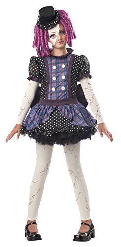 Broken Doll Kind Kostüm - Broken Doll Costume Dress Child