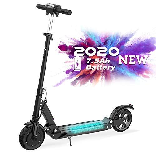 RCB Patinete Eléctrico E Scooter Plegable, Ultraligero para Adultos y Adolescentes Potente Motor,...