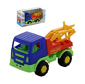 Polesie 68361 Tema Caja de Remolque para camión - Vehículos de Juguete
