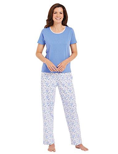 Jersey-Pyjama Blau