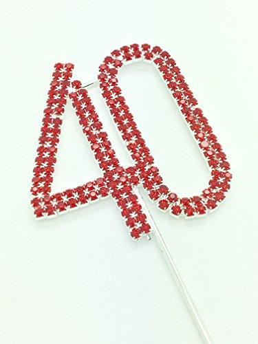 rhinestone-birthday-cake-topper-number-pick-40th-diamante-gems-decoration-birthday-anniversary-diama