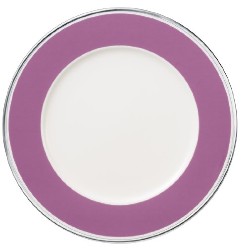 30cm Platzteller 'Anmut My Colour' aus Premium Bone Porzellan Farbe: Pink Rose