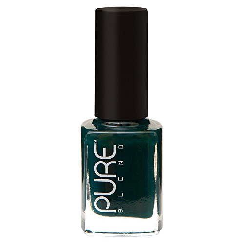 PURE BLEND Toxic Free Luxury Nail Polish - Exotic Grassland - Dark Green Crème - 9 ml