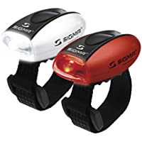 Sigma Sport Micro Frontlichtset rot weiß (17243)