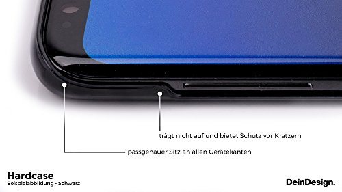 Apple iPhone X Silikon Hülle Case Schutzhülle Leder Look Leo BARRE NOIRE Hard Case schwarz
