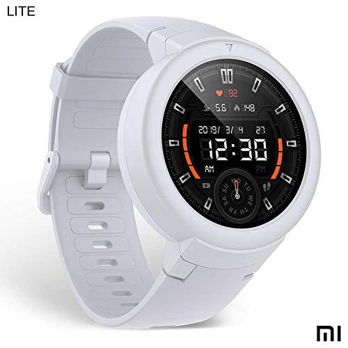 Xiaomi Amazfit Verge Lite Smartwatch Deportivo - 20h de Batería |GPS+GLONASS | Sensor Frecuencia Cardíaca | IP68 | Blanco (Reacondicionado Certificado)