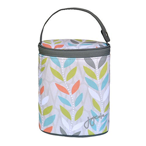 JJ Cole Baby 2 Bottle Cooler Citrus Breeze Pattern