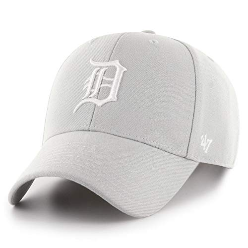 47 Brand Detroit Tigers MVP Snapback Cap - Steel Grey