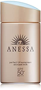 shiseido anessa perfect uv sunscreen skincare milk SPF50+/PA++++ 60mL/2oz