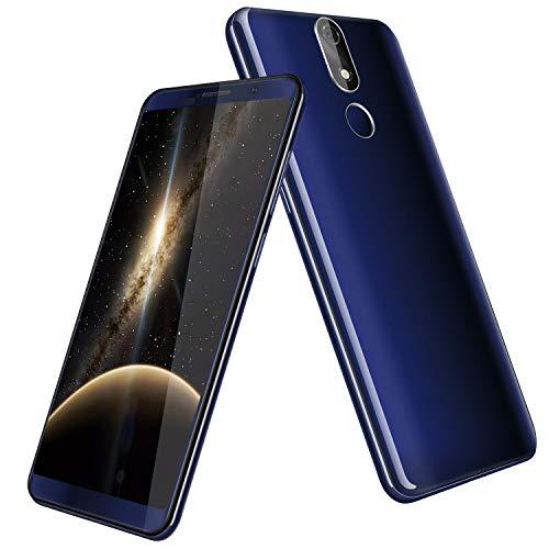 Cubot Power 4G-LTE Dual SIM Smartphone ohne Vertrag Android 8.1 5.99 Zoll 18: 9 FHD+ Multi-Touchscreen mit 6000 mAh Akku, 6GB Ram+128GB Rom, 20MP Hauptkamera / 13MP Frontkamera Blau