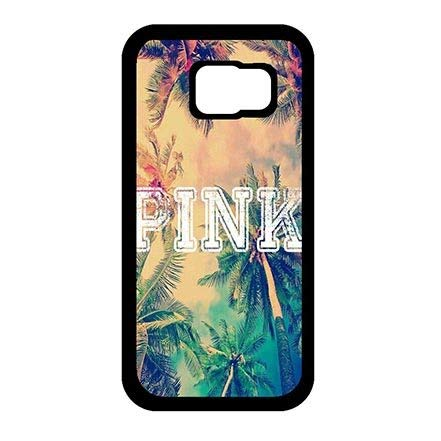 Samsung Galaxy S6 Phone Slim Carring Cases for Pink Holiday Theme Thin Flexible Plastic Cover Case for Teen Girls