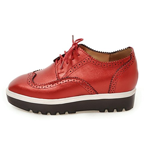Thick-soled casual chaussures fashion Lady head/augmenté chaussures de coins d'Angleterre B
