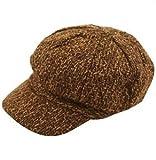 Une casquette marron vintage de l'époque victorienne pour enfant. Idéal pour les petites têtes blondes.