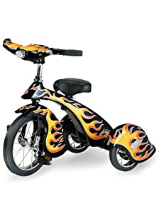 Lavender Classic Retro Trike (Hot Rod Flames)