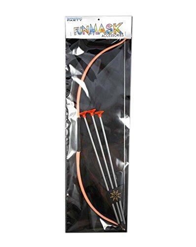 GIRM® - Arco indiano con frecce, articoli per carnevale, Arco