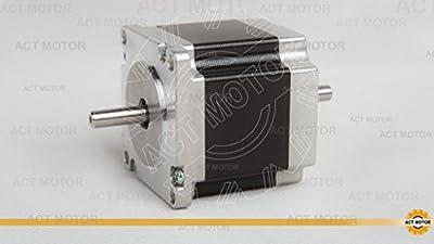 ACT Motor GmbH 1 PCS Nema23 Schrittmotor 23HS6620B 2.0A 56mm 90N.cm 6 Leitungen Automatisierung Werkzeugmaschinen