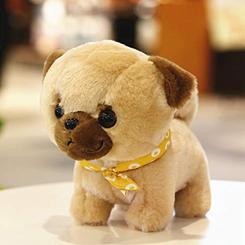 ahzha Cartoon niedliche Simulation Chai Hund Puppe Hund Plüsch Spielzeug Hund Hund Hund Hund Haustier Serie Hund Kissen Partner 29CM D (Robbe Puppe)