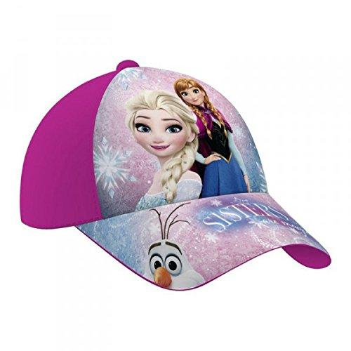 Disney Frozen - Die Eiskönigin Kinder Cap Baseball Cap für Mädchen, Kappe mit Disney Frozen Motiven